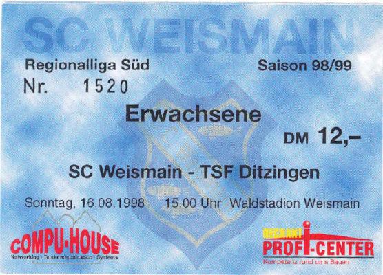 eintrittskarte-1998-08-16-sc-weismain-tsf-ditzingen