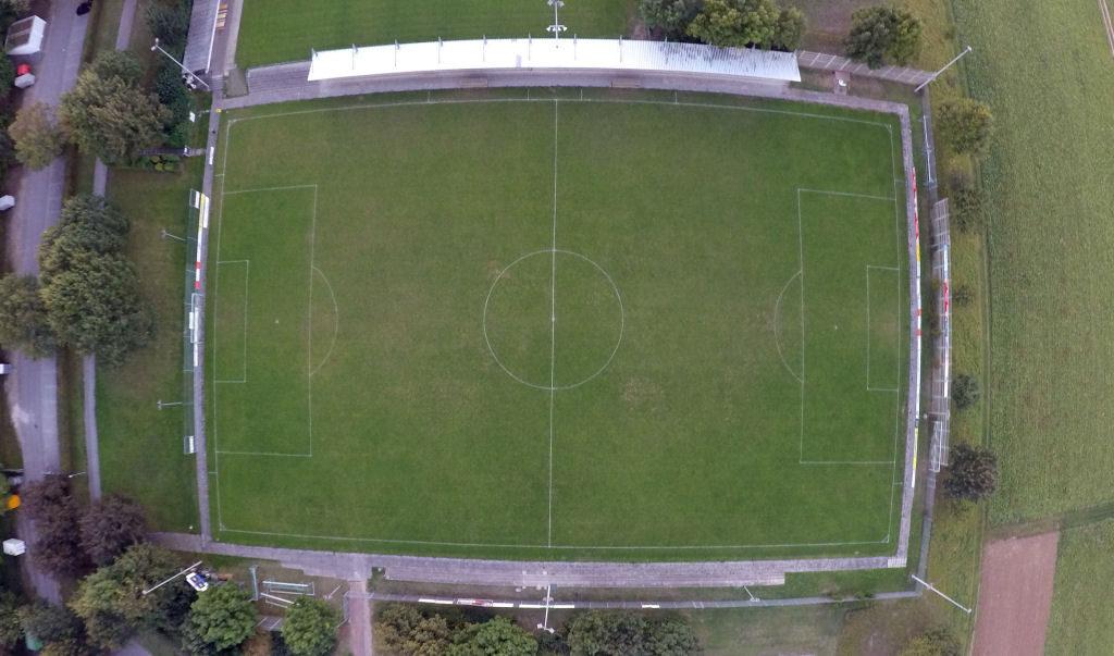 Stadion an der Lehmgrube Ditzingen Vogelperspektive