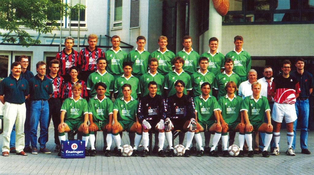 Mannschaftsfoto TSF Ditzingen 94-95