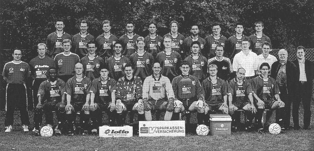 Mannschaftsfoto TSF Ditzingen 98-99