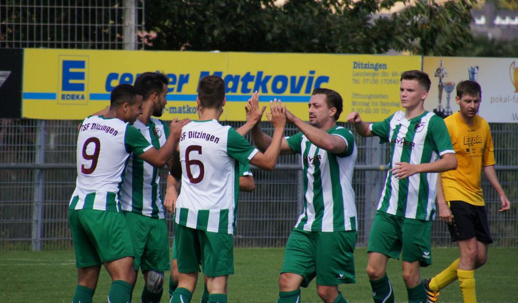 TSF Ditzingen - SV Gebersheim 21.08.2016