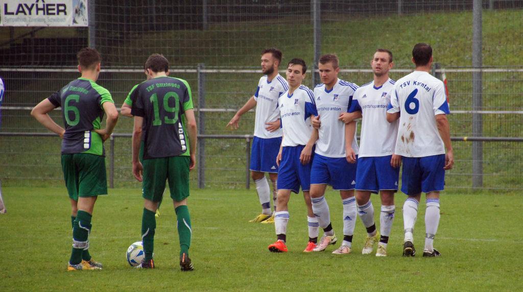 TSF Ditzingen - TSV Korntal 18.09.2016